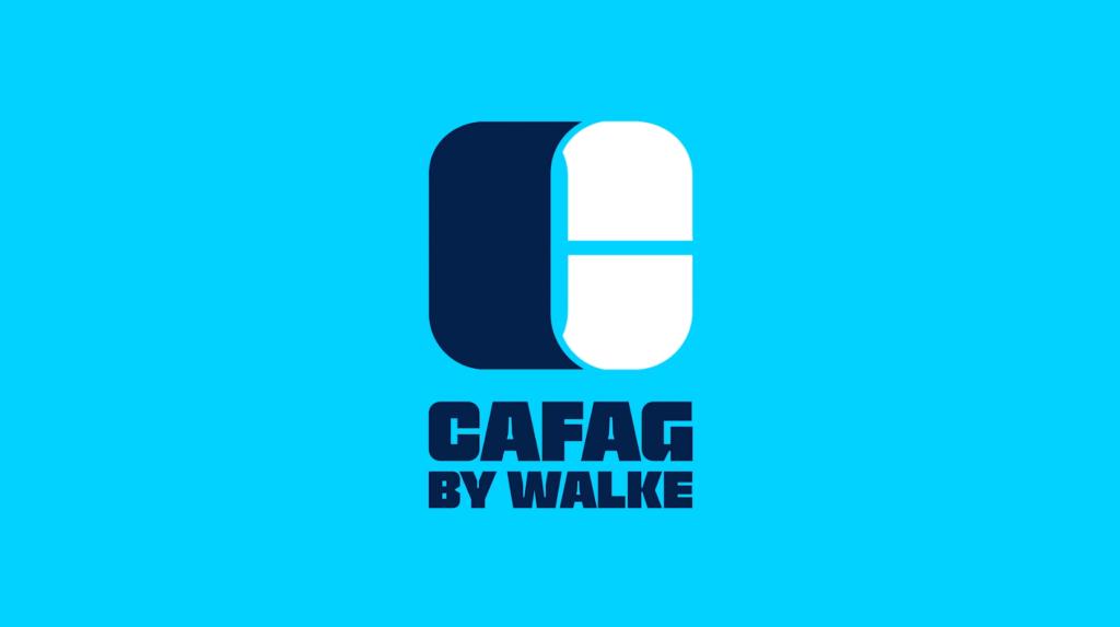 Cafag by Walke - Lancement nouveau logo